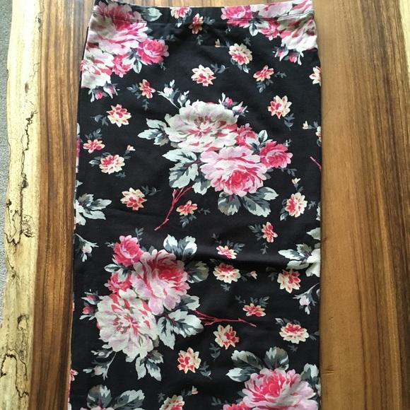 Express Dresses & Skirts - Floral pencil skirt
